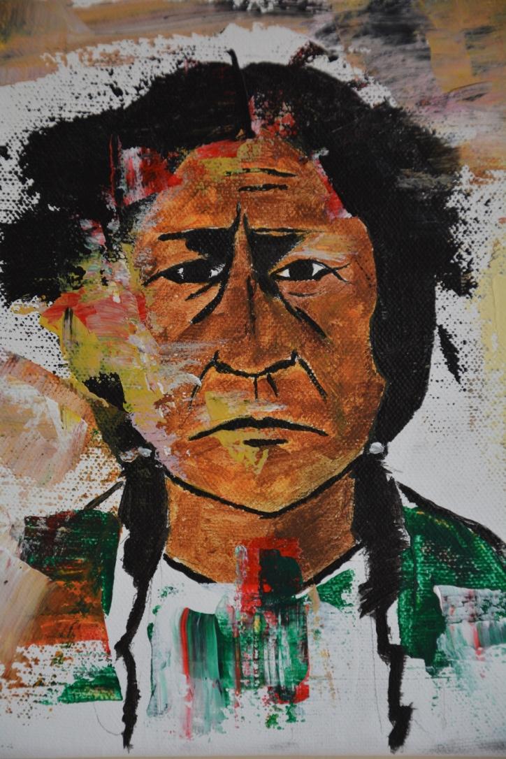 Native spirit close up